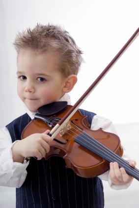 Geige lernen