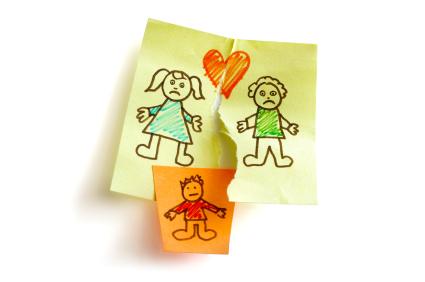 Wie Kinder eine Scheidung erleben